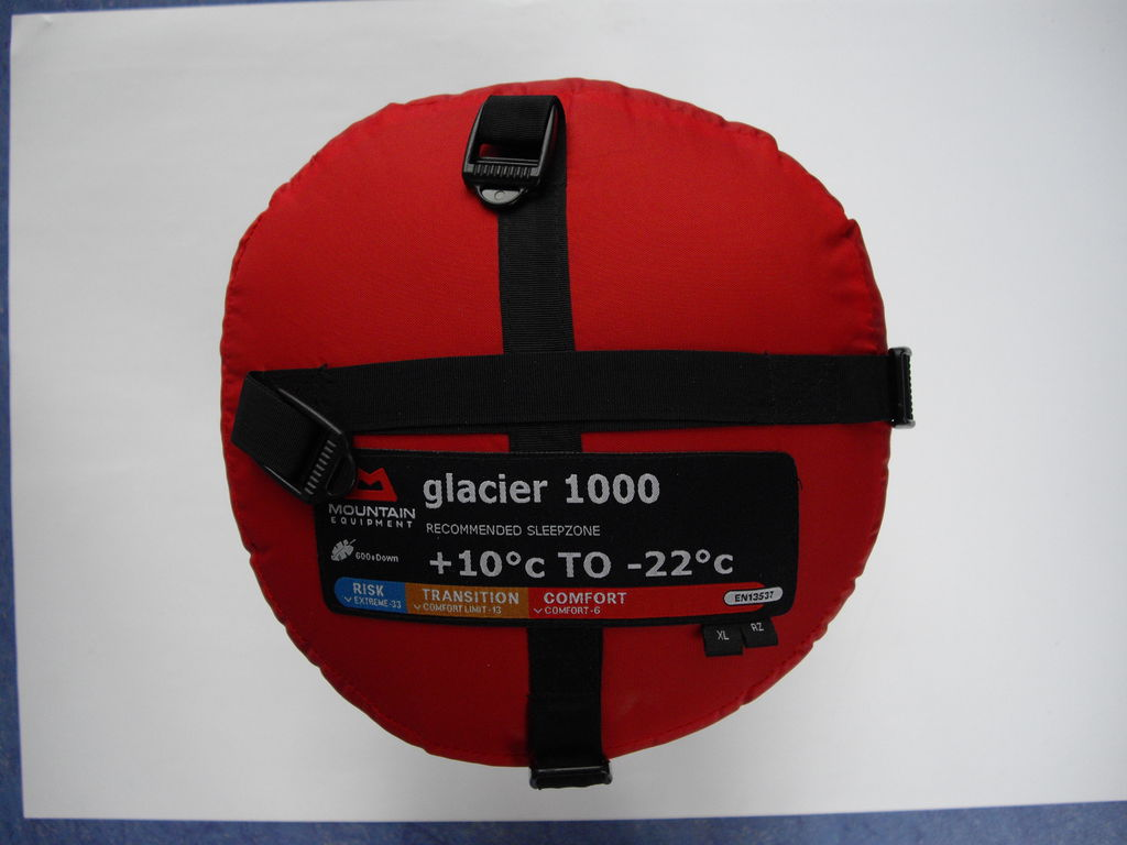 Schlafsack - Mountain Equipment Glacier 1000 - 1.867 g