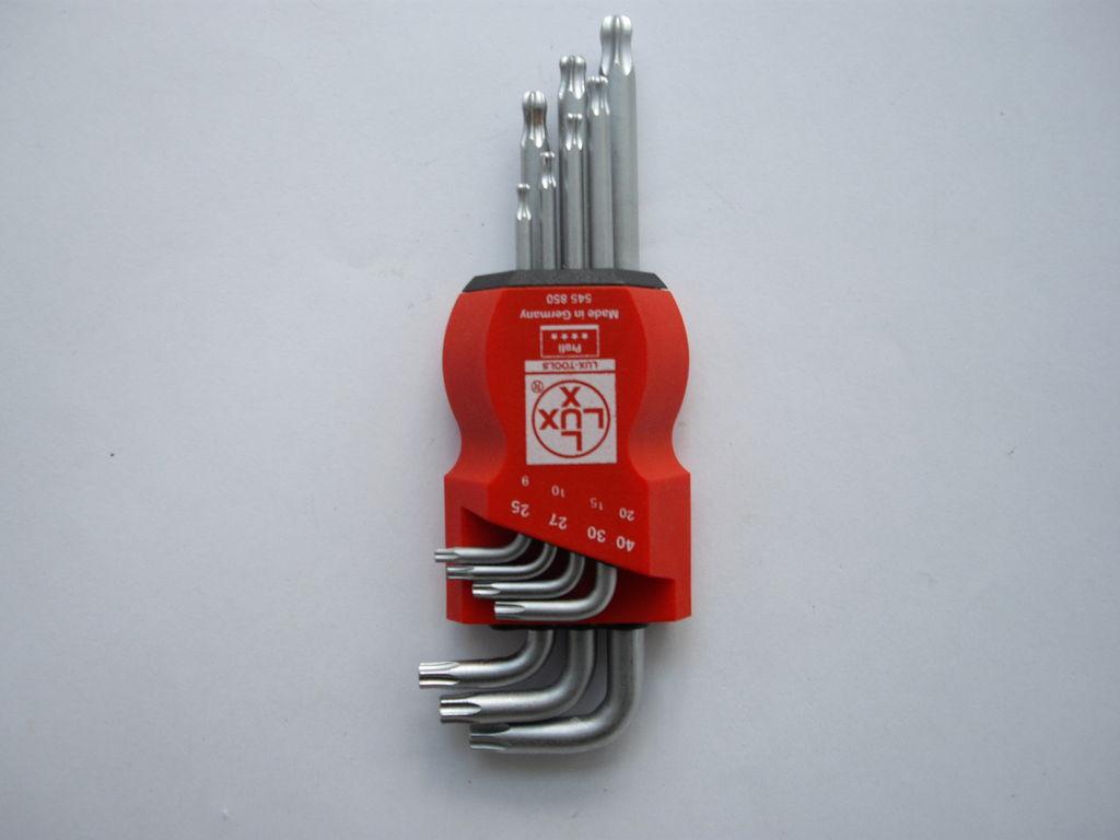 Torxschlüsselsatz - Lux - 147 g - reduziert auf einen Schlüssel