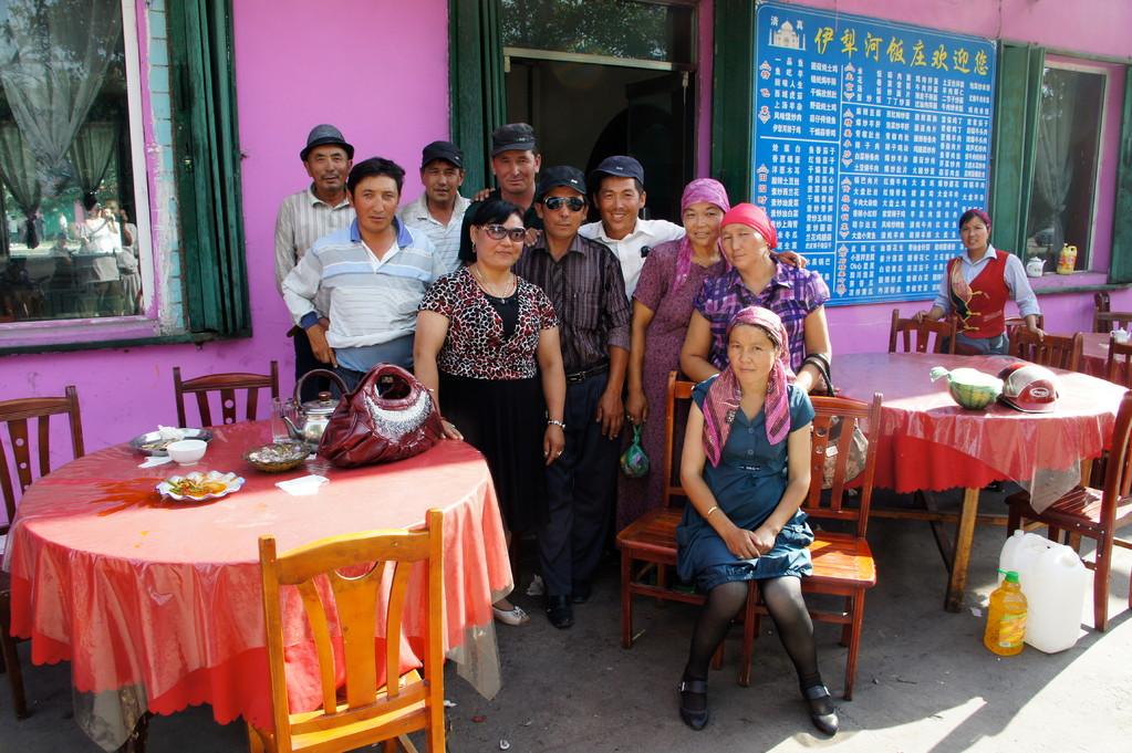 """Auch hier habe ich """"Somen"""" - das uigurische Nudel- und Gemüsegericht - gegessen"""