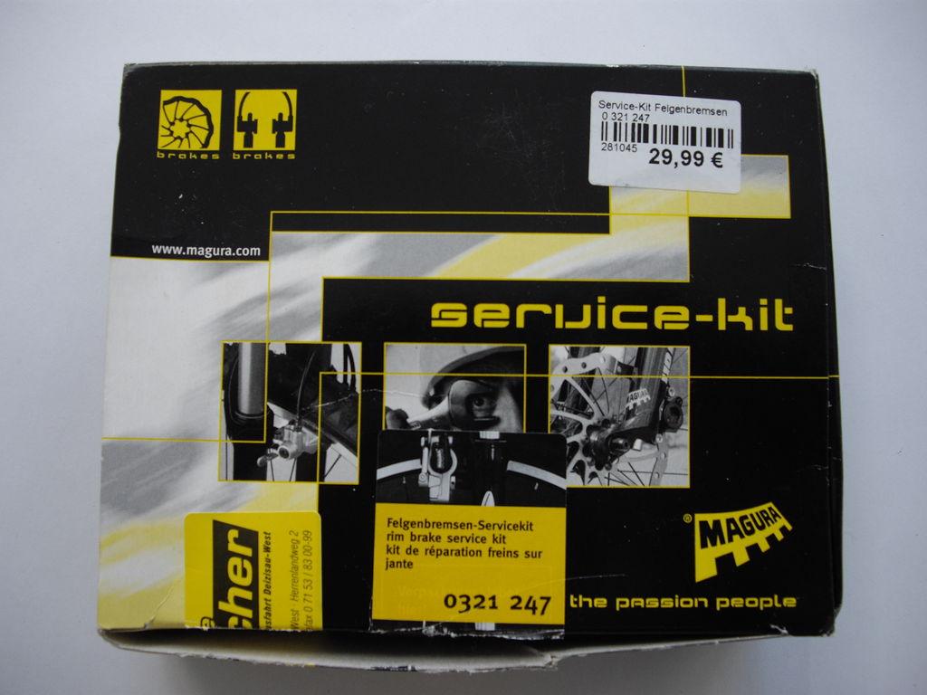 Bremsanlagen - Servicekit - Magura HS33 - 208 g - nicht benötigt