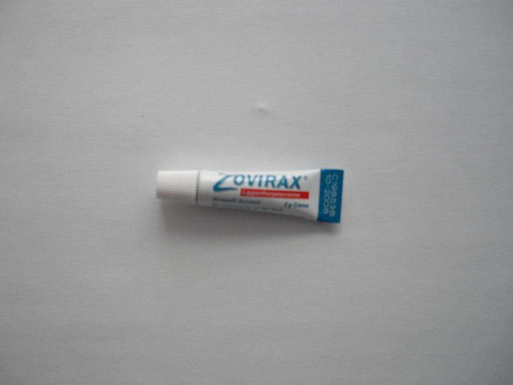Zovirax - gegen Lippenherpes - 3 g - nicht benötigt