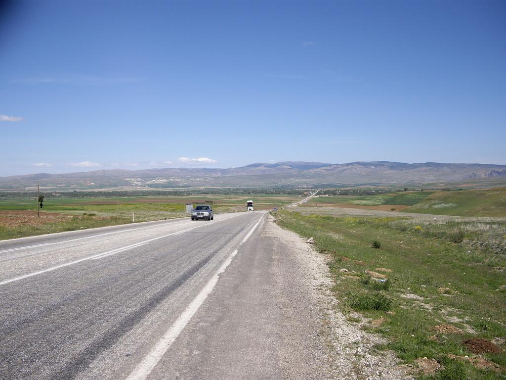 Blick zurück in die Gegend um Sandikli