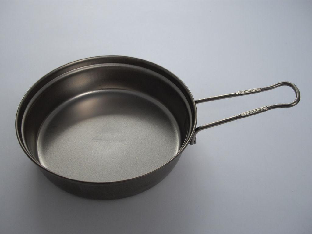 Kochtopfdeckel (als Pfanne verwendbar) - Titan - Snow Peak - 65 g