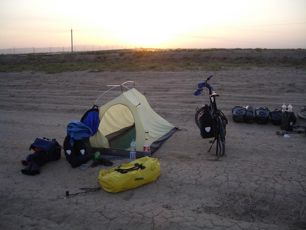 unser erster gemeinsamer Zeltplatz