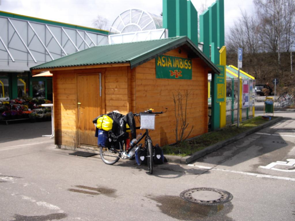 02.04.08 - Mittagessen beim Thai-Imbiss in Augsburg