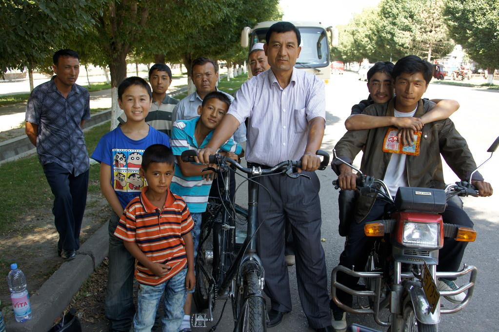 Meine Armee uigurischer Pannenhelfer