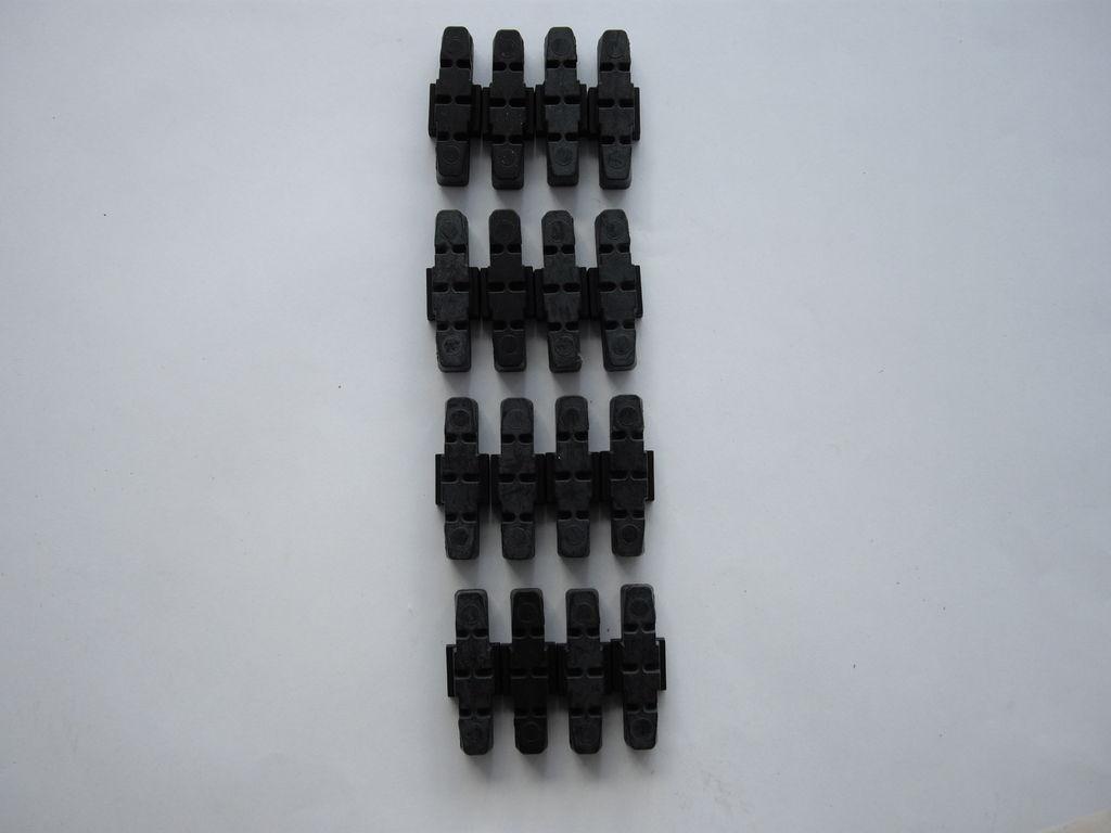 4 Sätze Bremsbeläge - Magura HS33 - 167 g - viel zu viel !!!