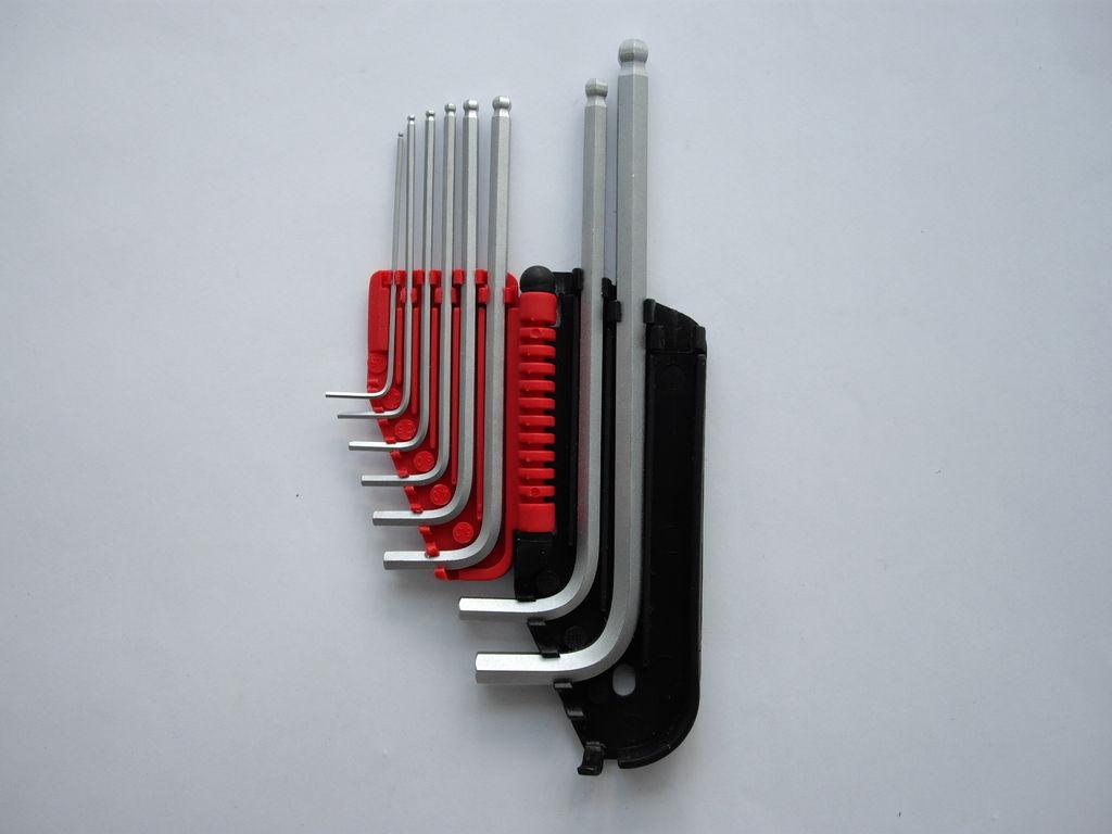 Imbus-Schlüsselsatz - Powerfix - 212 g - reduziert auf die wichtigsten Grössen