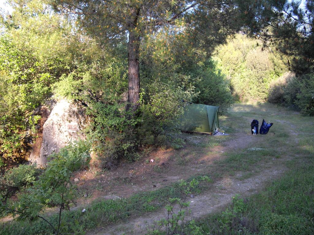 Das zweite Camp hinter Mugla