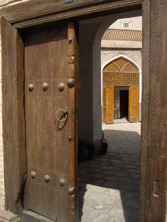 Eingangstor zu meiner Karawanserei für die nächsten 14 Tage