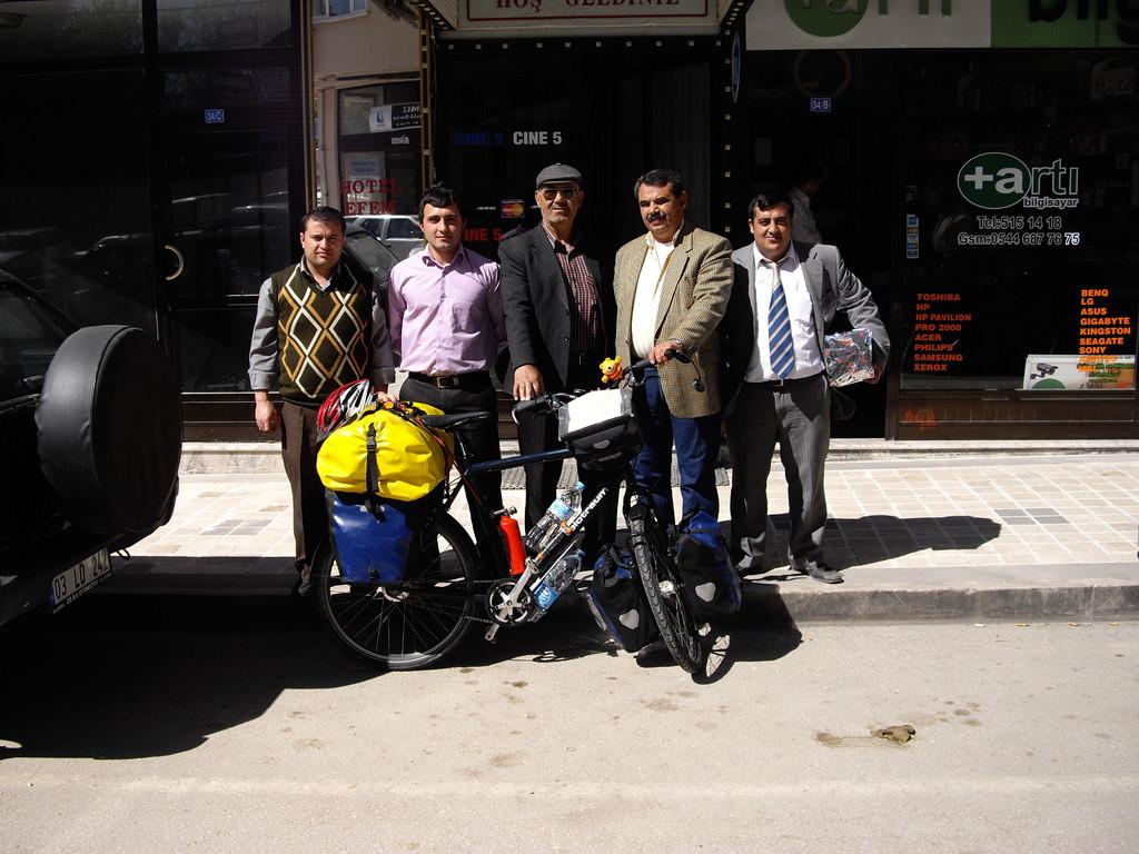 Vor dem Hotel Efem in Sandikli