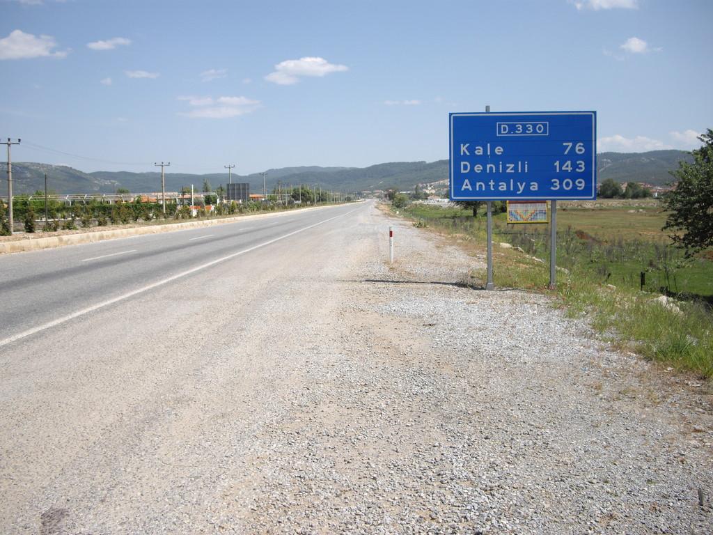 Anhaltspunkt: über Kale nach Denizli