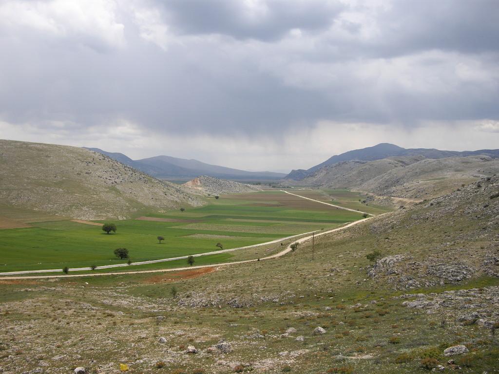 Ein Tal wie gemalt - das Wetter bleibt heute kalt und regnerisch