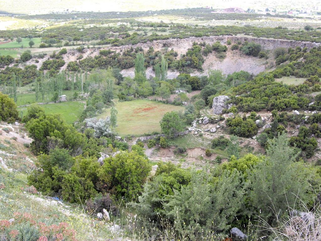 Botanikschlucht kurz vor Denizli