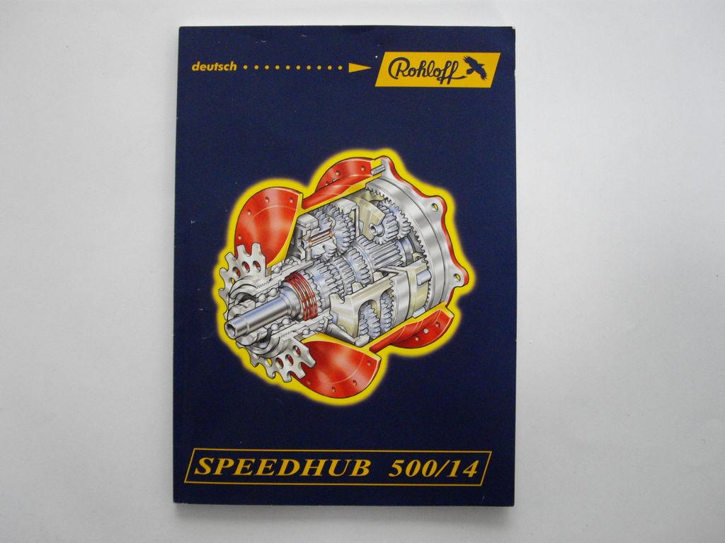 Rohloff - Speedhub 500/14 - Handbuch - 175 g