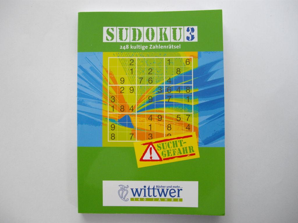 Sudokuheft - 181 g