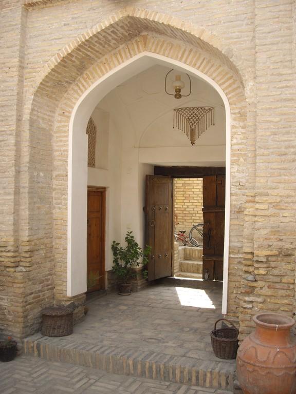 Das Eingangstor von innen
