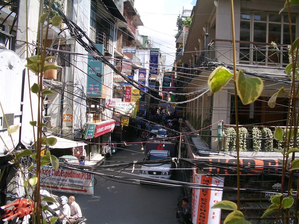 Kathmandu - Touristikviertel Thamel