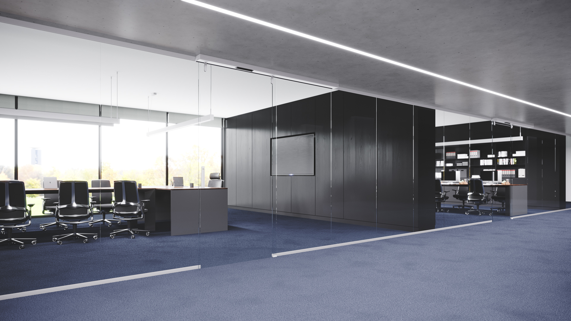Doorson 400 Rahmenlos - Büro