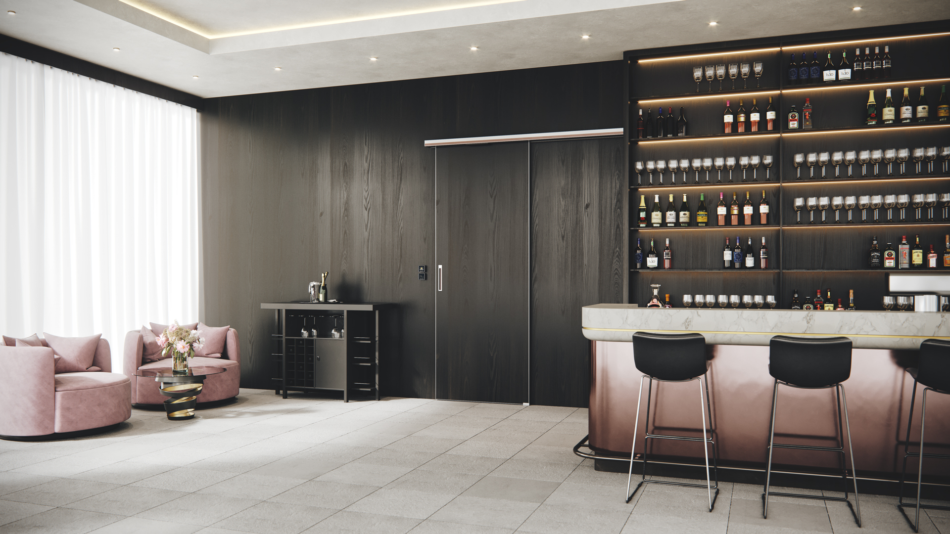 Doorson 400 Holz - Bar