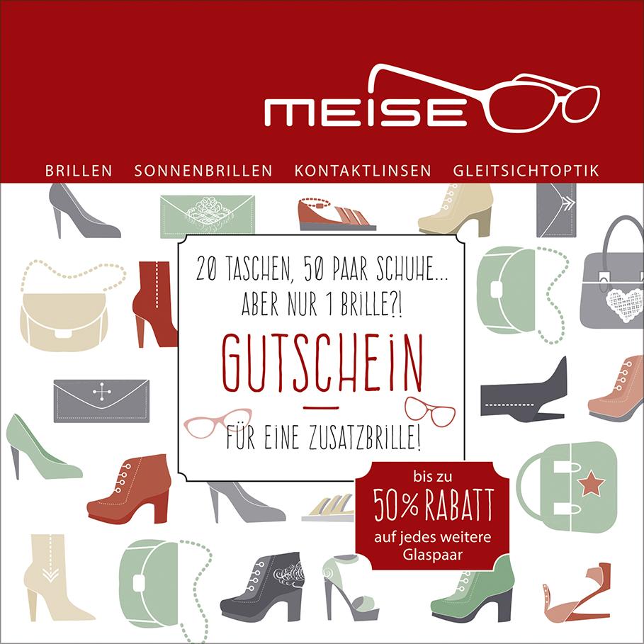 Gutscheinpostkarte | Meise Optik GmbH