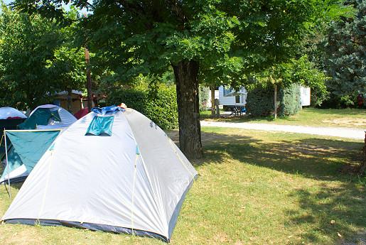 Stellplatz für Zelt