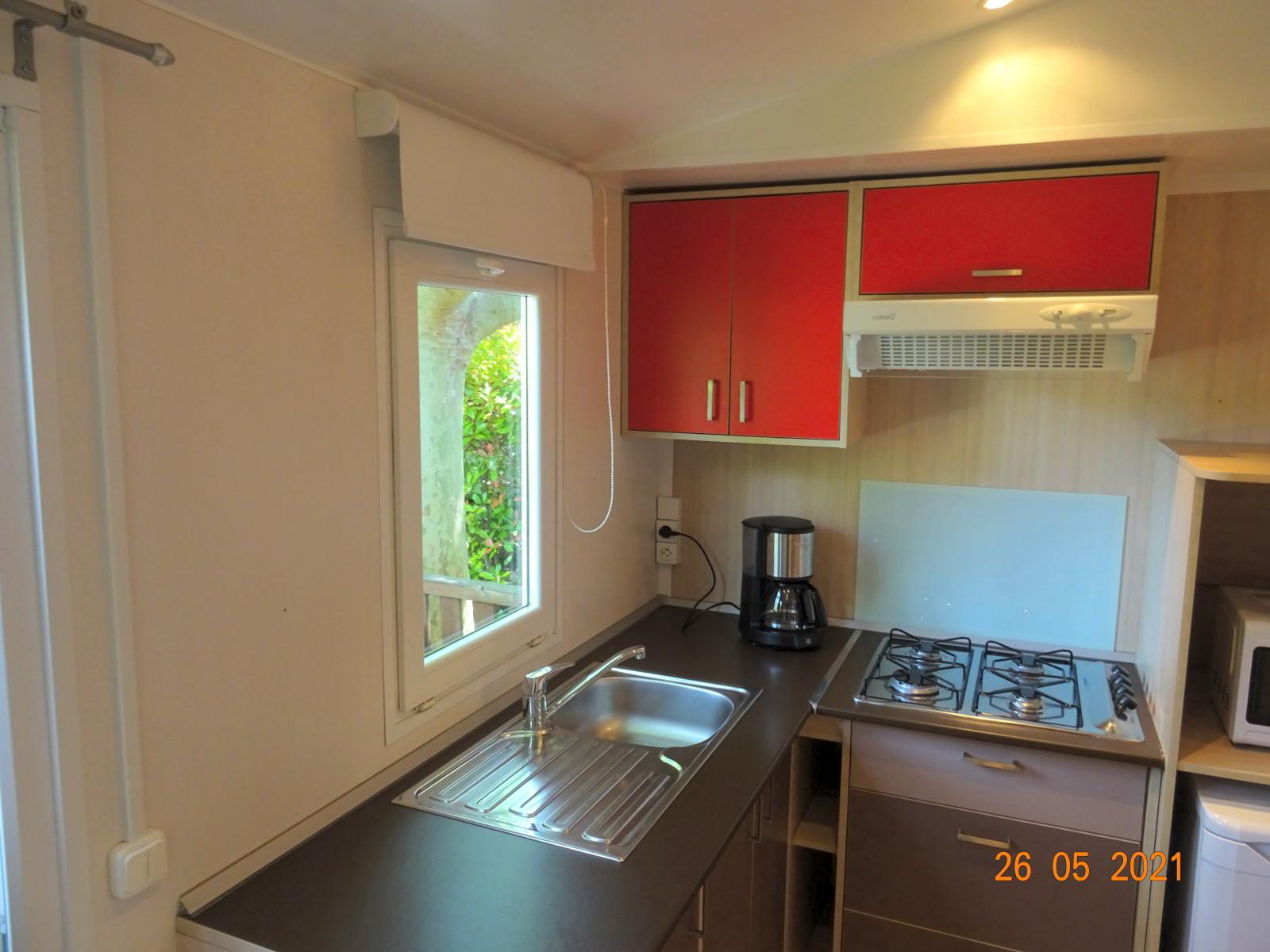 Mobilheim 2 Schlafzimmer, Küche