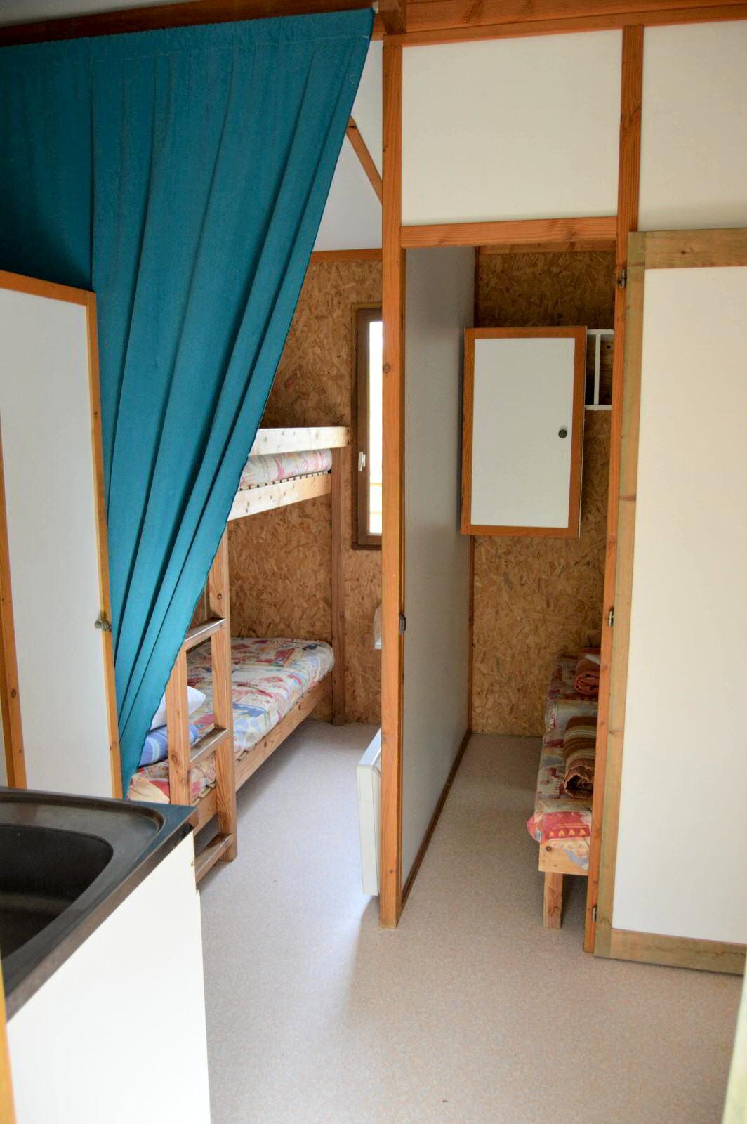 Chalet avec 2 chambres