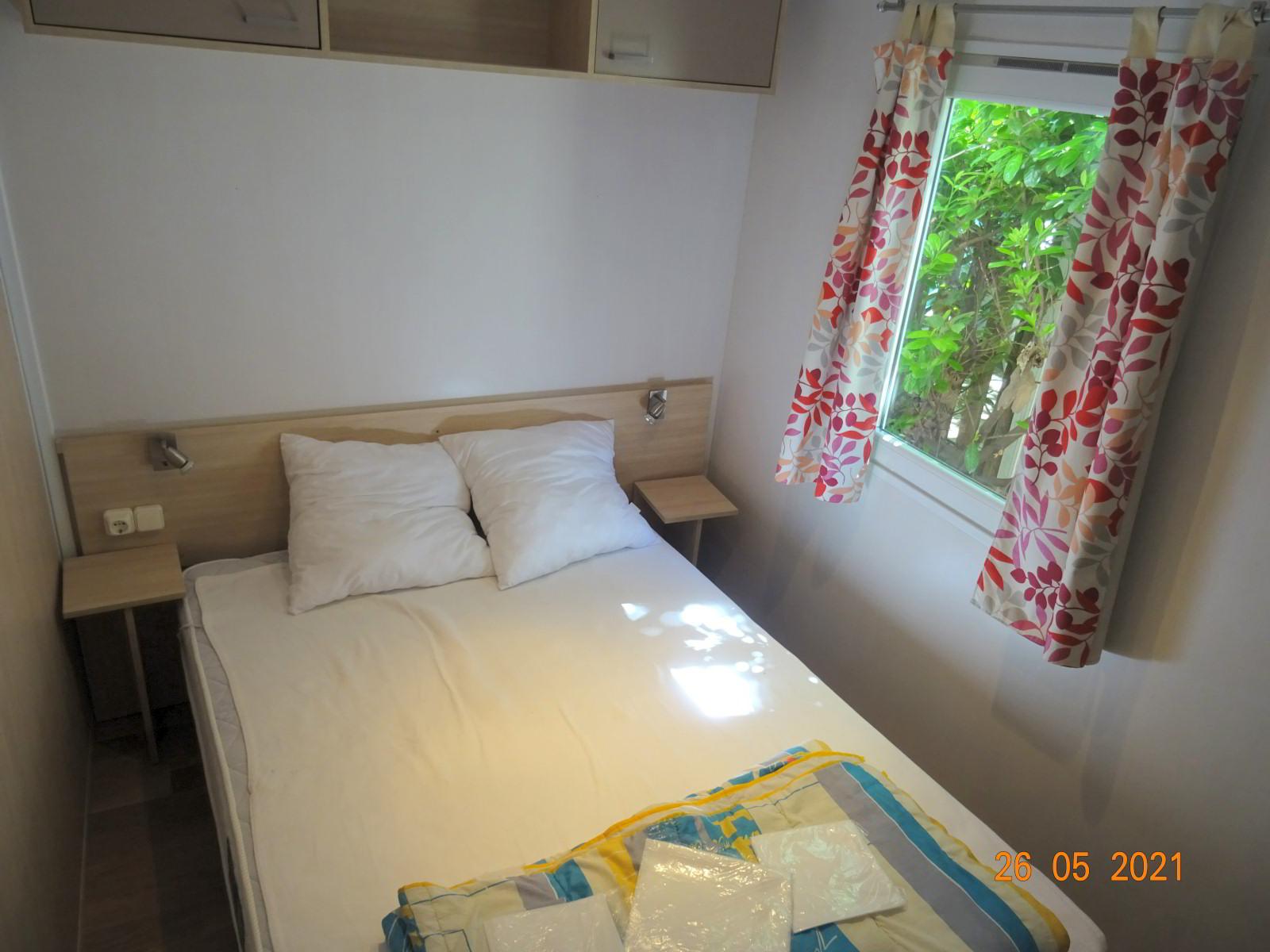 Mobilheim mit 3 Schlafzimmern, 6 Personen