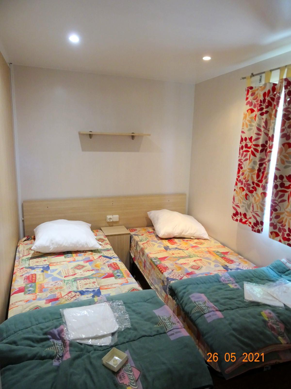 Mobil-home 3 chambres en sud Ardèche