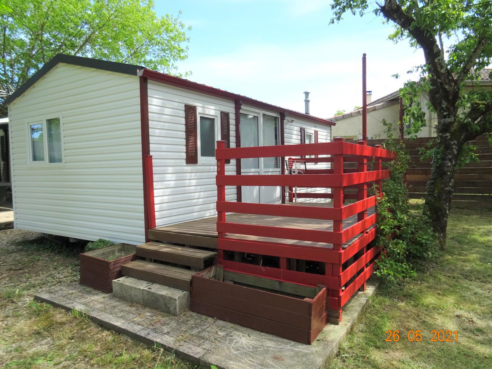 Mobil-home avec 2 chambres