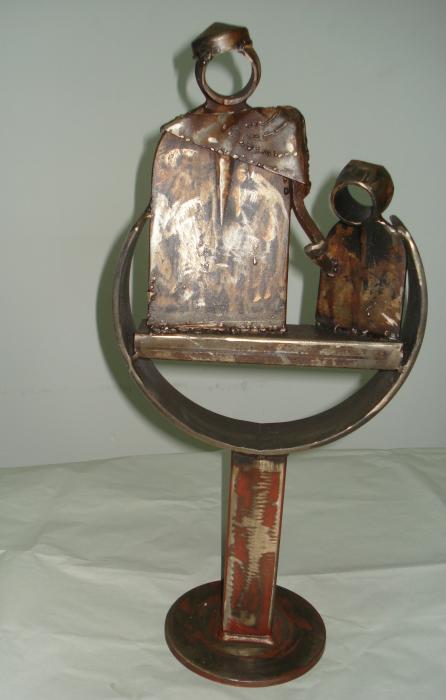 Motta Piero – Per un sorriso Metallo, Metallo, 30x60cm