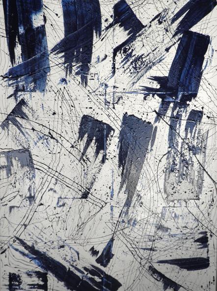 Antonio Toma - Breath gentle - olio su tela - 100 x 150