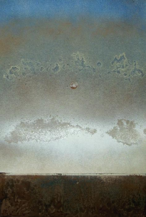 Lippi Corrado - Clouds in the sky - tecnica mista cartone - 30 X 50