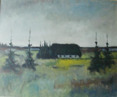 Andersen Sven – Swedish landscape - olio tela - 80 X 60