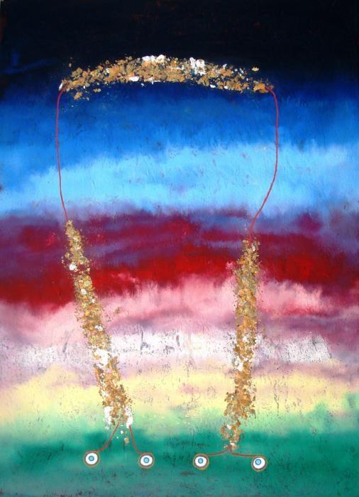 Griffi Roberta - Equilibrio - acrilico tela - 50 X 70