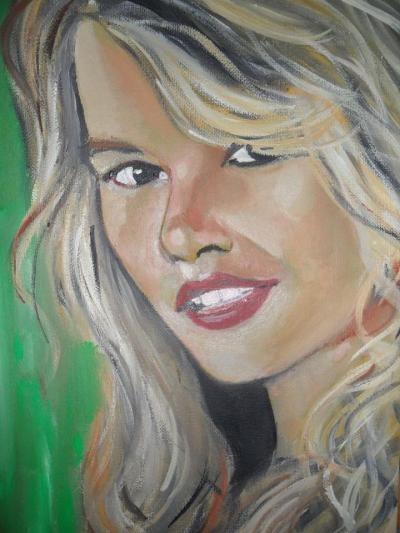 Faroldi Danilo - Claudia - olio tela - 20 x 30