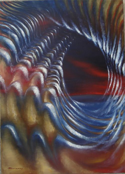 Salazar Marianela  – Vibrazioni dell'anima Olio, Tela, 50x70cm