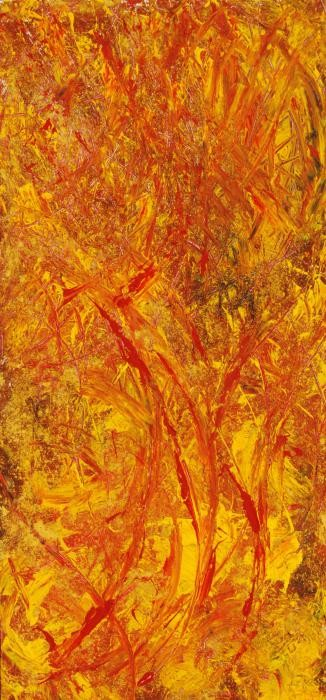Ferramosca Annamaria – Energy - tecnica mista legno - 50 x 110