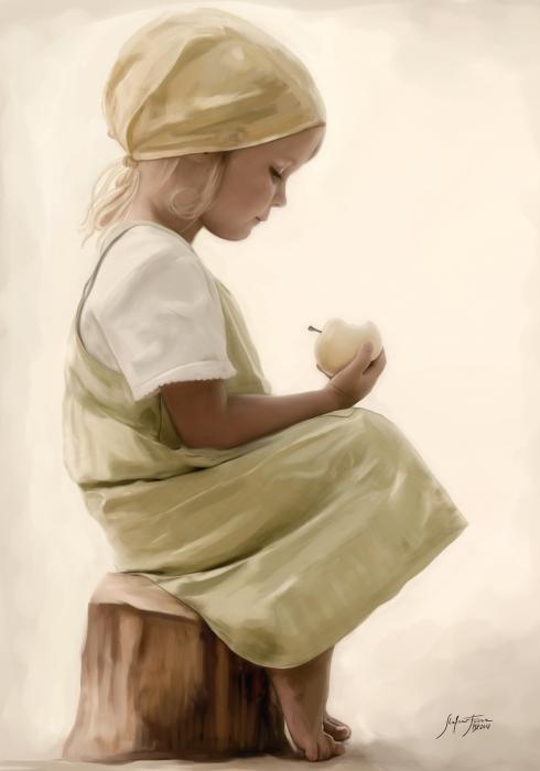 Fiore Stefano  - Childhood Altro, Tela, 35x50cm