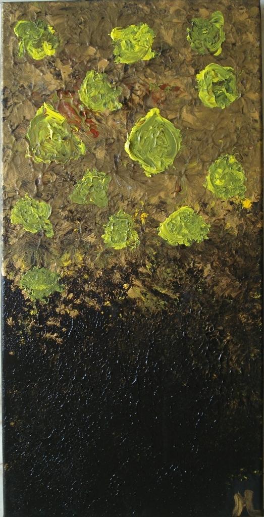 Notte Stellata - olio su tela - 30 X 60 - 2012