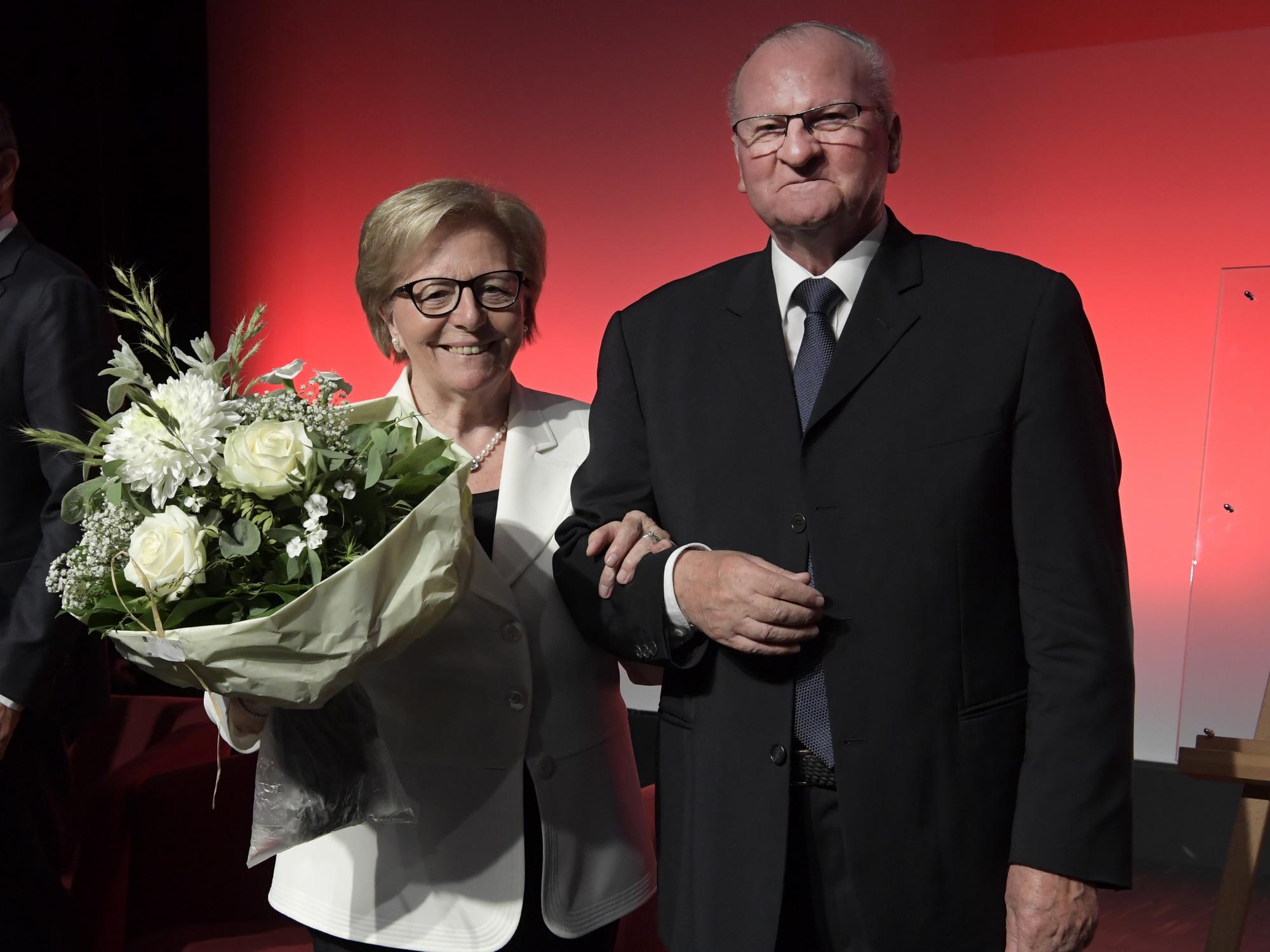 Helene und Peter Galliker sen.