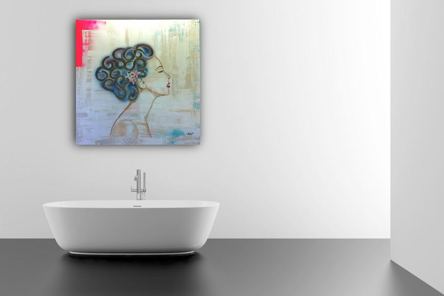 Jazz 130 x 130 cm verkocht