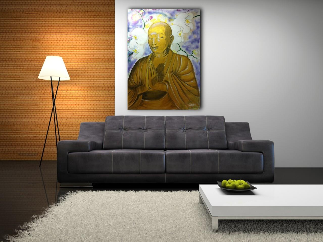 Boeddha 100 140 cm verkocht