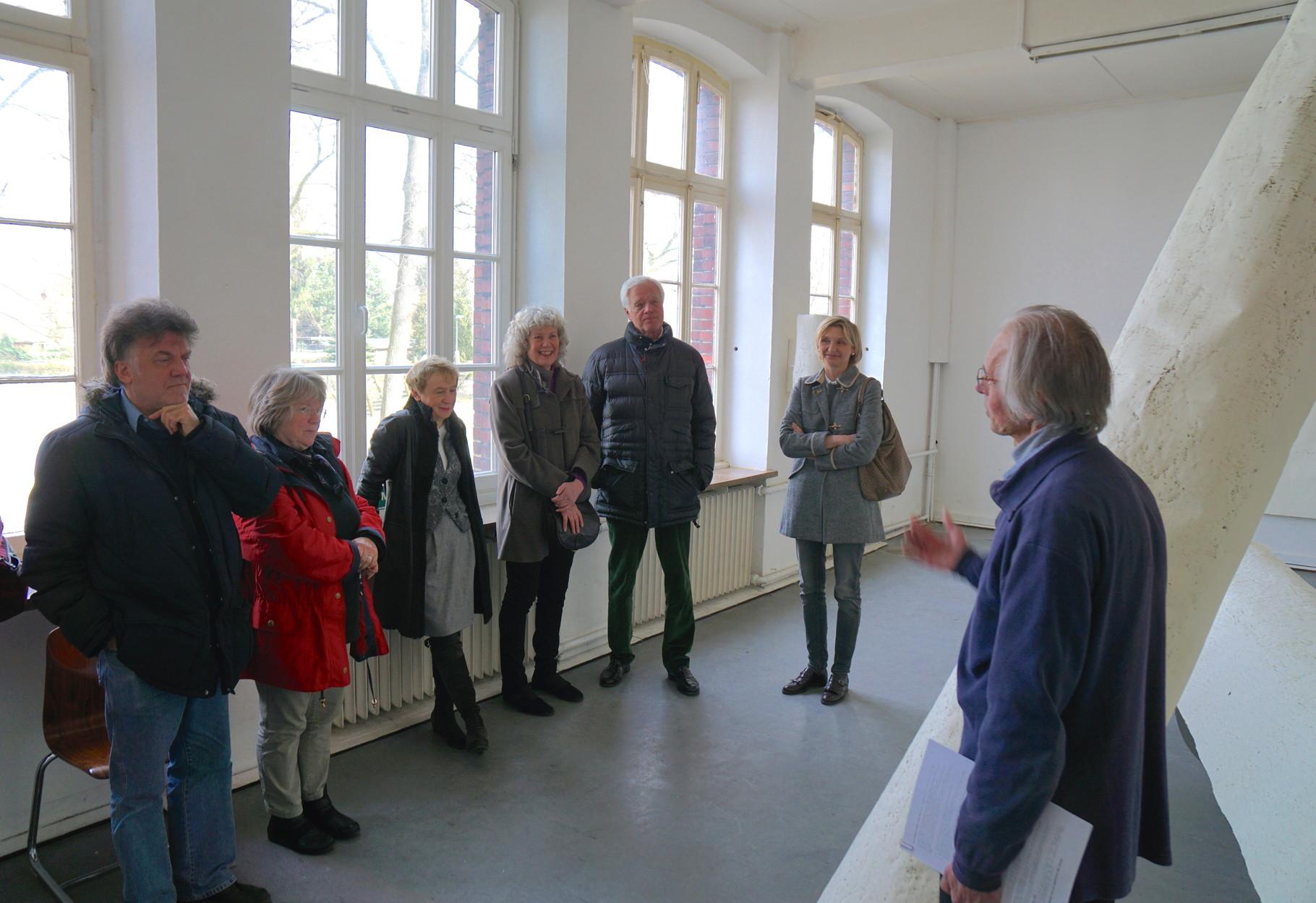 Foto: Luitgard Nolte vom Besuch des Kunstverein RE