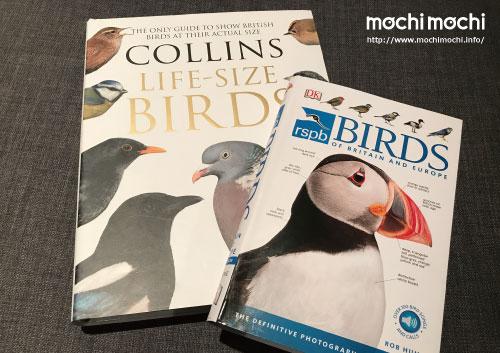 ロンドンで一番大きな本屋さんでゲットした鳥の図鑑