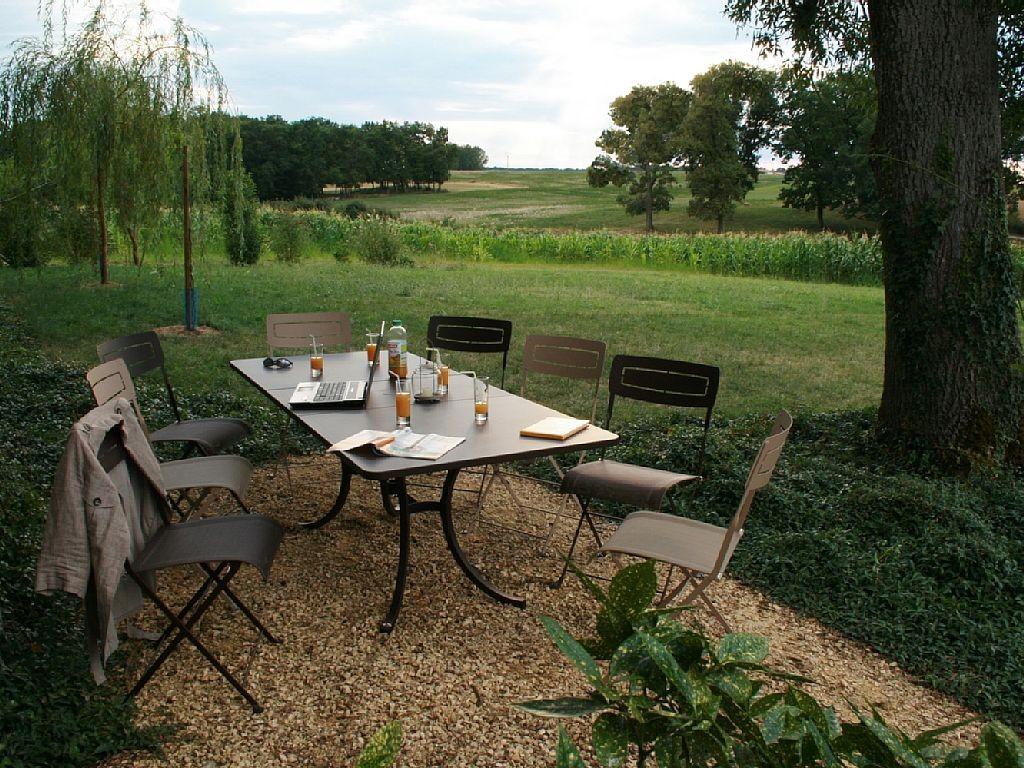 Gites monflanquin gite lacaussade lot et garonne avec for Camping lot et garonne avec piscine