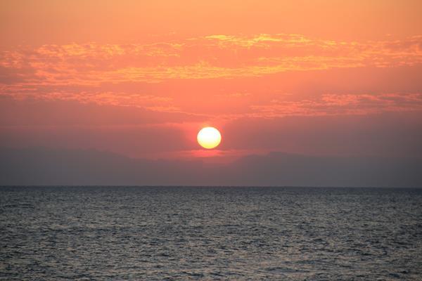 Sonnenuntergang Rotes Meer