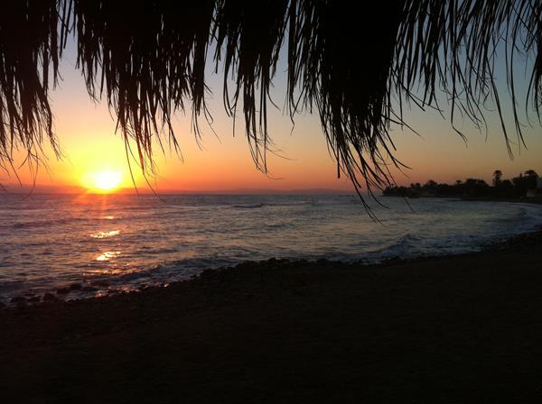 Sonnenaufgang Rotes Meer