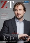 """2013 stellte Jörg Hartigdie Titelgeschichte """"Mitarbeitergesundheit im Focus"""" für das Magazin """"Zukunft Training"""""""